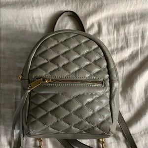 Small Gray Backpack